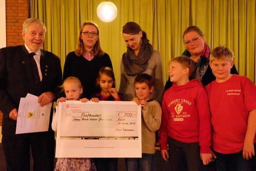 500 Euro-Spende der Hessenjäger-Kassel